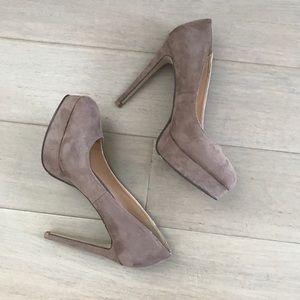Shoes - Suede Platforms